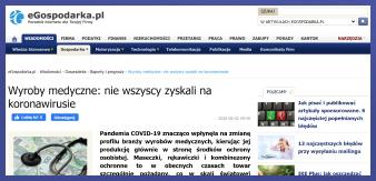 Fragment strony eGospodarka